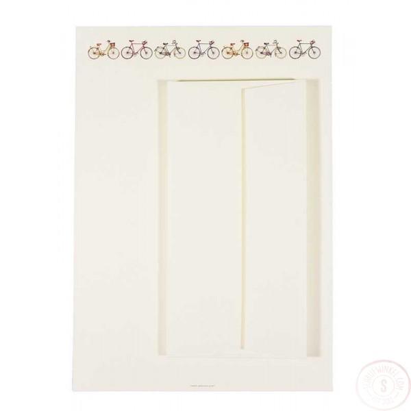 Briefpapier en Enveloppen met Fietsen