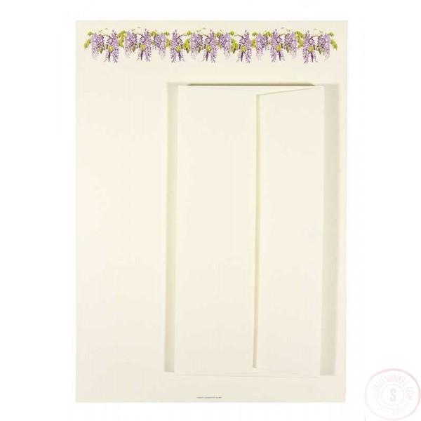 Briefpapier en Enveloppen met Lavendel