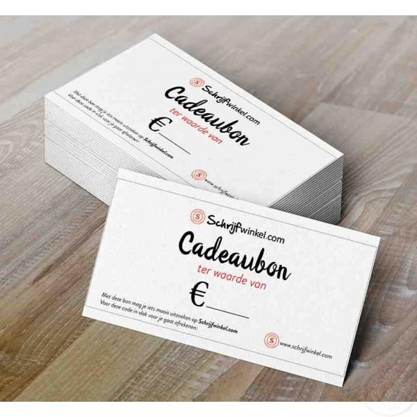 Cadeaubon Schrijfwinkel.com 100 euro