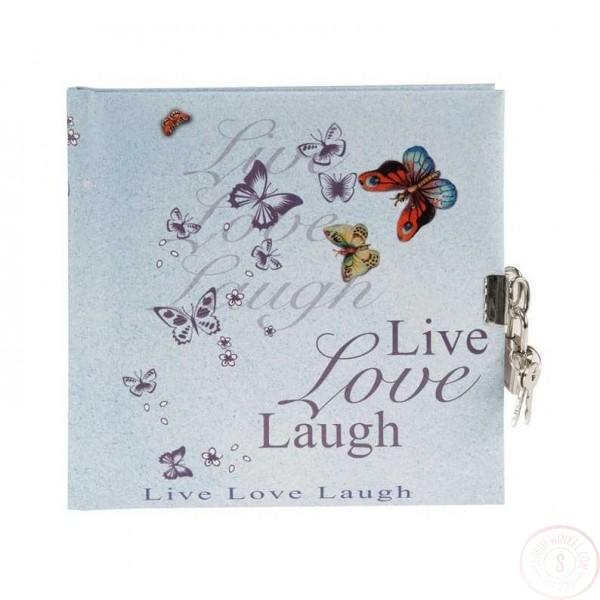 Dagboek Met Slot Live Love Laugh Blanco
