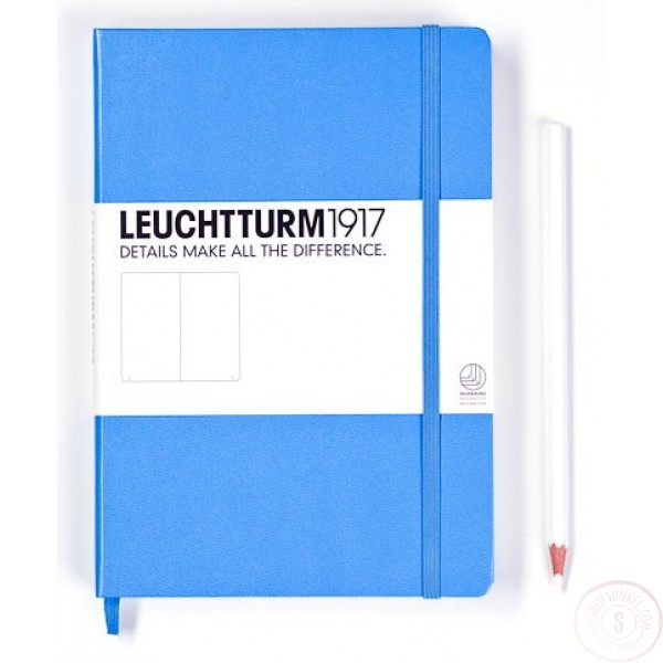 Leuchtturm1917 Medium Notitieboek Gelinieerd Hemelsblauw