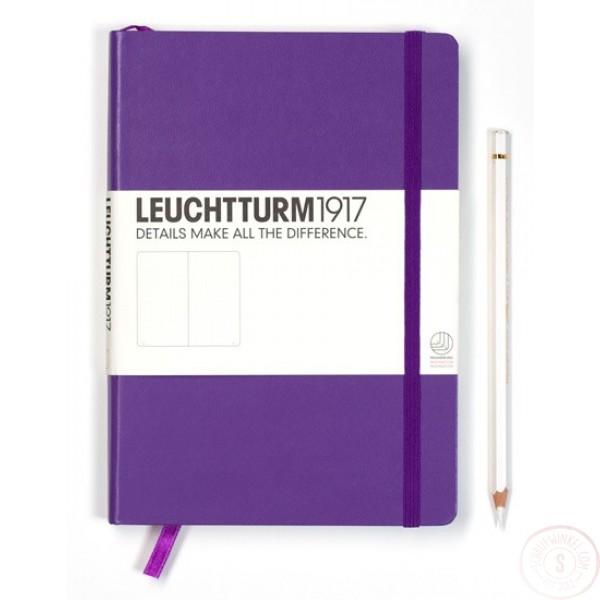Leuchtturm1917 Medium Notitieboek Gelinieerd Lavendel