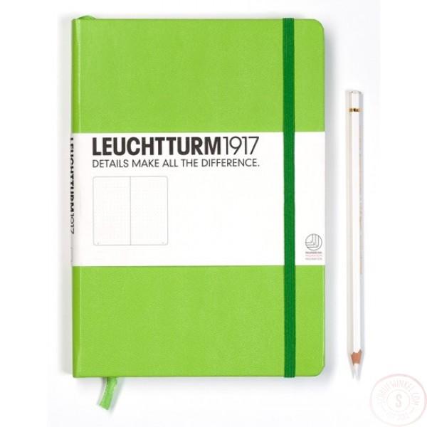 Leuchtturm1917 Medium Notitieboek Gelinieerd Limoenfris