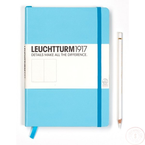 Leuchtturm1917 Medium Notitieboek Gelinieerd Turquoise