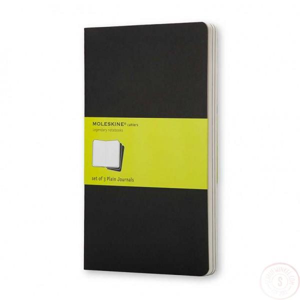 Moleskine Cahier Zwart Pocket Blanco