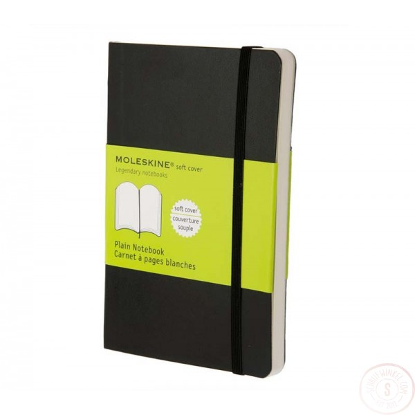 Moleskine Pocket Notitieboek Blanco Softcover