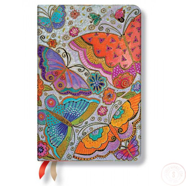 Paperblanks Agenda 2016 Flutterbyes Mini Weekagenda