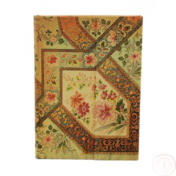 Paperblanks Filigree Floral Ivory Midi Gelinieerd