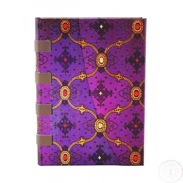 Paperblanks French Ornate Violet Midi Gelinieerd
