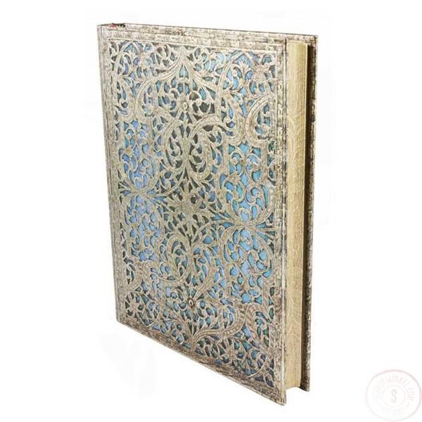 Paperblanks 10 Year Journal Maya Blue