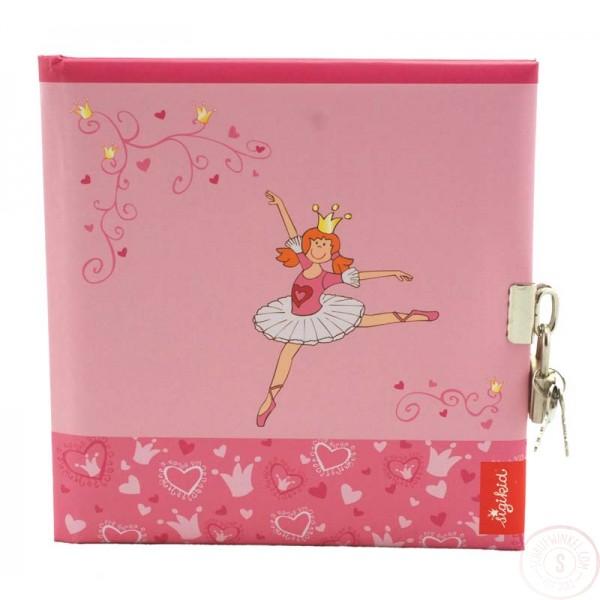 Prinsessen Dagboek Met Slot Blanco
