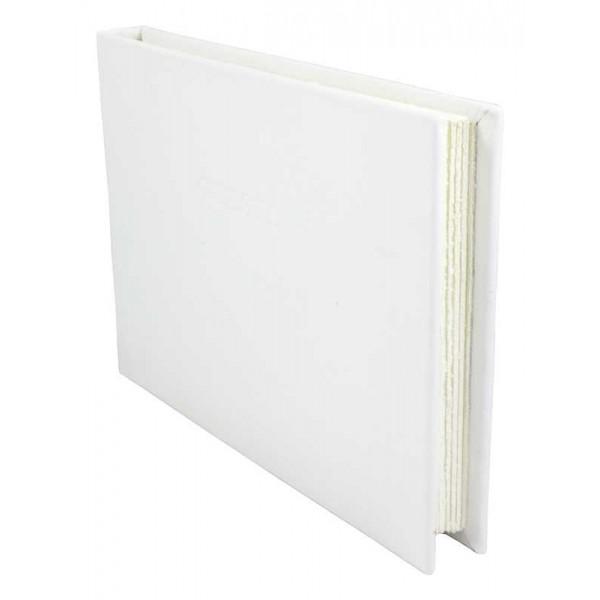 Alba Leren Gastenboek Wit