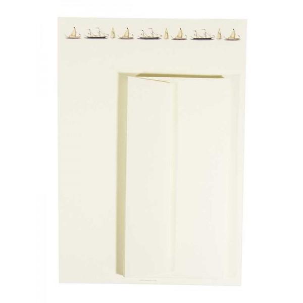 Briefpapier en Enveloppen met Zeilboten