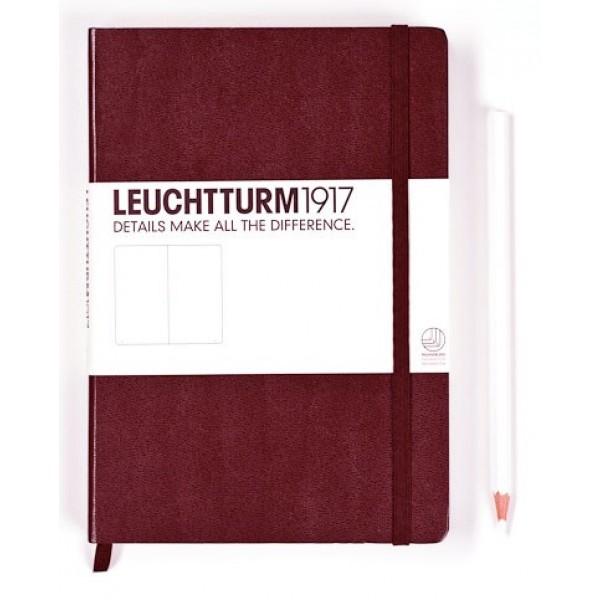 Leuchtturm1917 Medium Notitieboek Gelinieerd Chocoladebruin