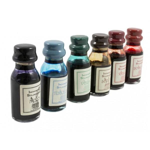 Luxe Kalligrafie Inktset met 6 Inktpotjes