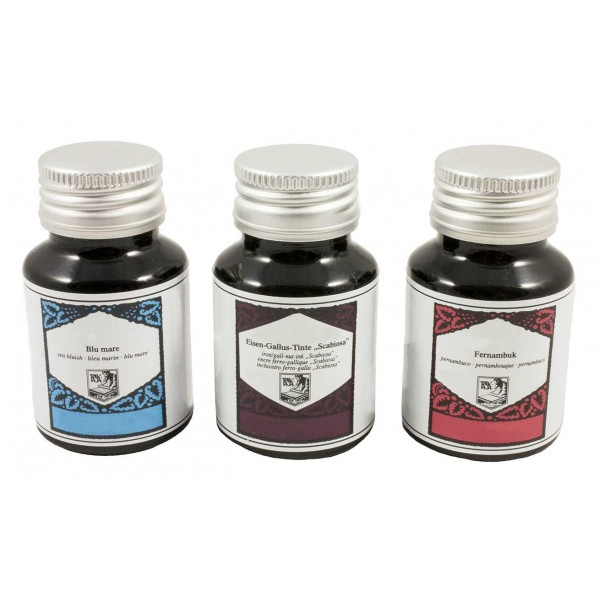 Vulpen- en Kalligrafie Inkt Roze, Turquoise en Oudpaars
