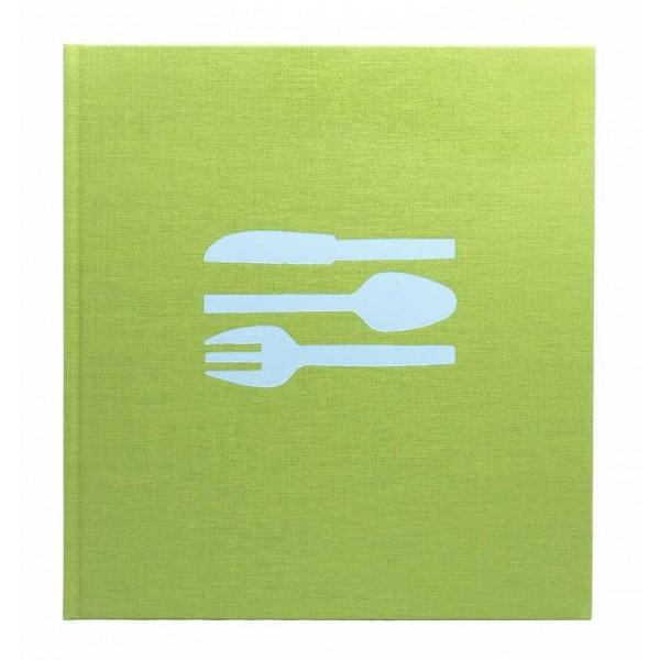 Bindewerk Blanco Receptenboek / Kookboek Limoengroen
