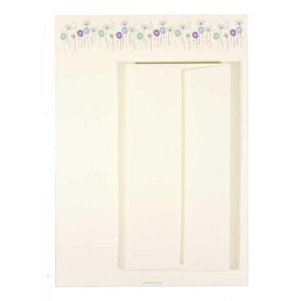 Briefpapier en Enveloppen Dandelions