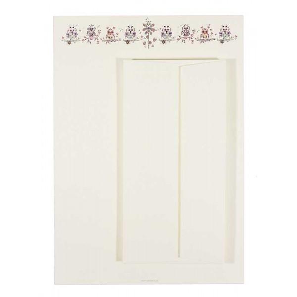 Briefpapier en Enveloppen met Uiltjes