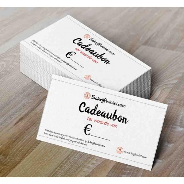 Cadeaubon Schrijfwinkel.com 50 euro