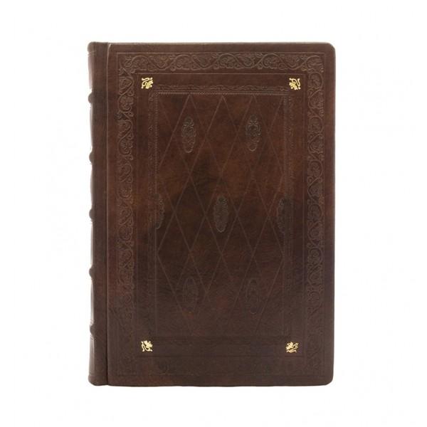 Leren Gastenboek / Notitieboek Elementi in Oro