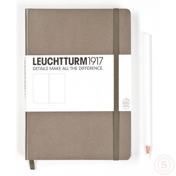 Leuchtturm1917 Medium Notitieboek Taupé