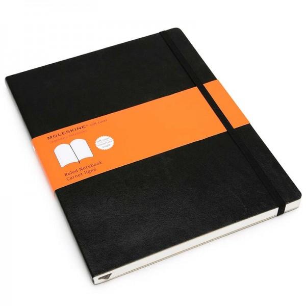Moleskine Extra Groot Notitieboek Gelinieerd Softcover