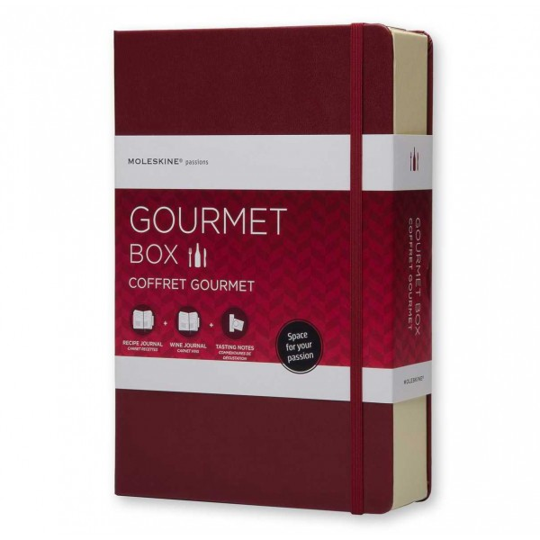 Moleskine Gift Box Gourmet Schrijfset