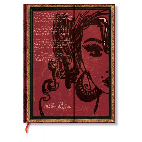 Paperblanks Amy Winehouse Midi Gelinieerd