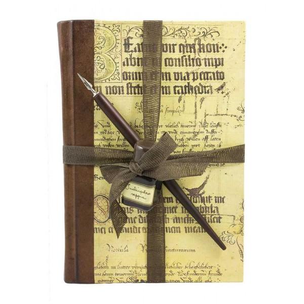 Schrijfset Magnifico Met Kalligrafiepapier, Kroontjespen en Inkt