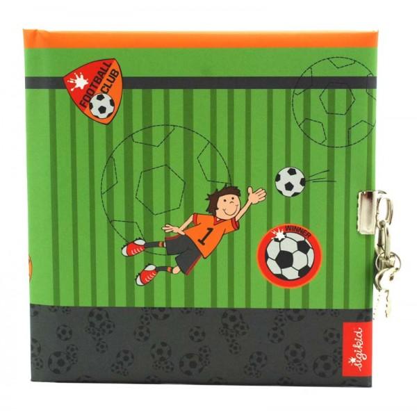 Voetbal Dagboek Met Slot Blanco