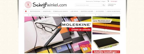De oude webshop van Schrijfwinkel.com