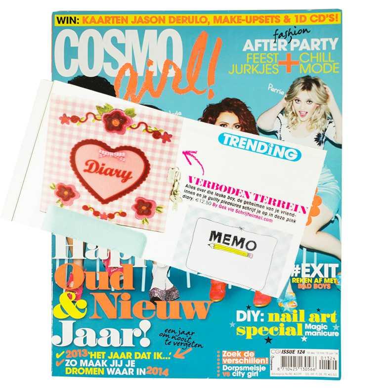 Schrijfwinkel.com in de Cosmo Girl