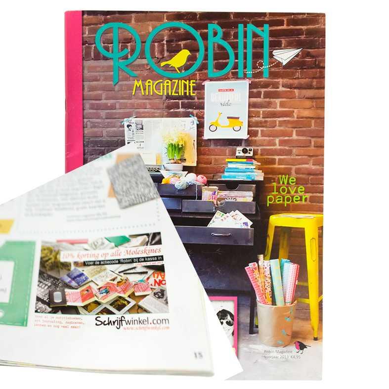 Schrijfwinkel.com in Robin Magazine